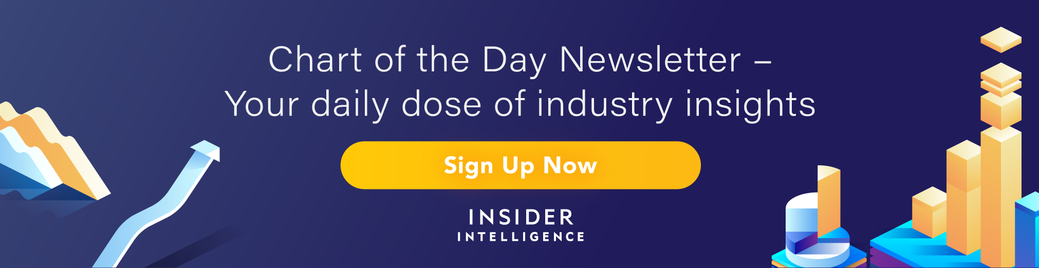 Sign up today: The free infographic for Insider Intelligence's daily newsletter