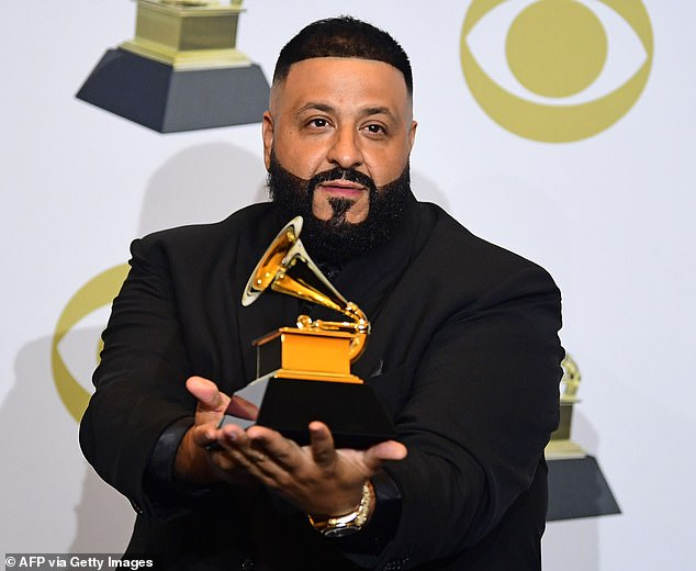 Grammy Award Winner: DJ Khaled, shown in January 2020 in Los Angeles, announced over the summer that his twelfth album is in preparation and will be named Khaled Khaled.