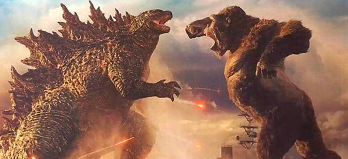 Godzilla versus the Kong version